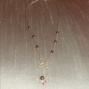 Sun Necklace - Sterling Silver